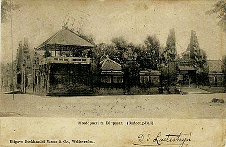 Puri DenPasar 1900an 2