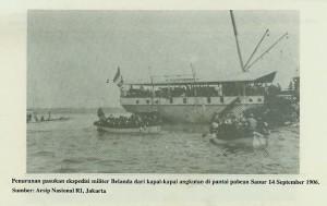 pendaratan pasukan belanda di sanur 1906