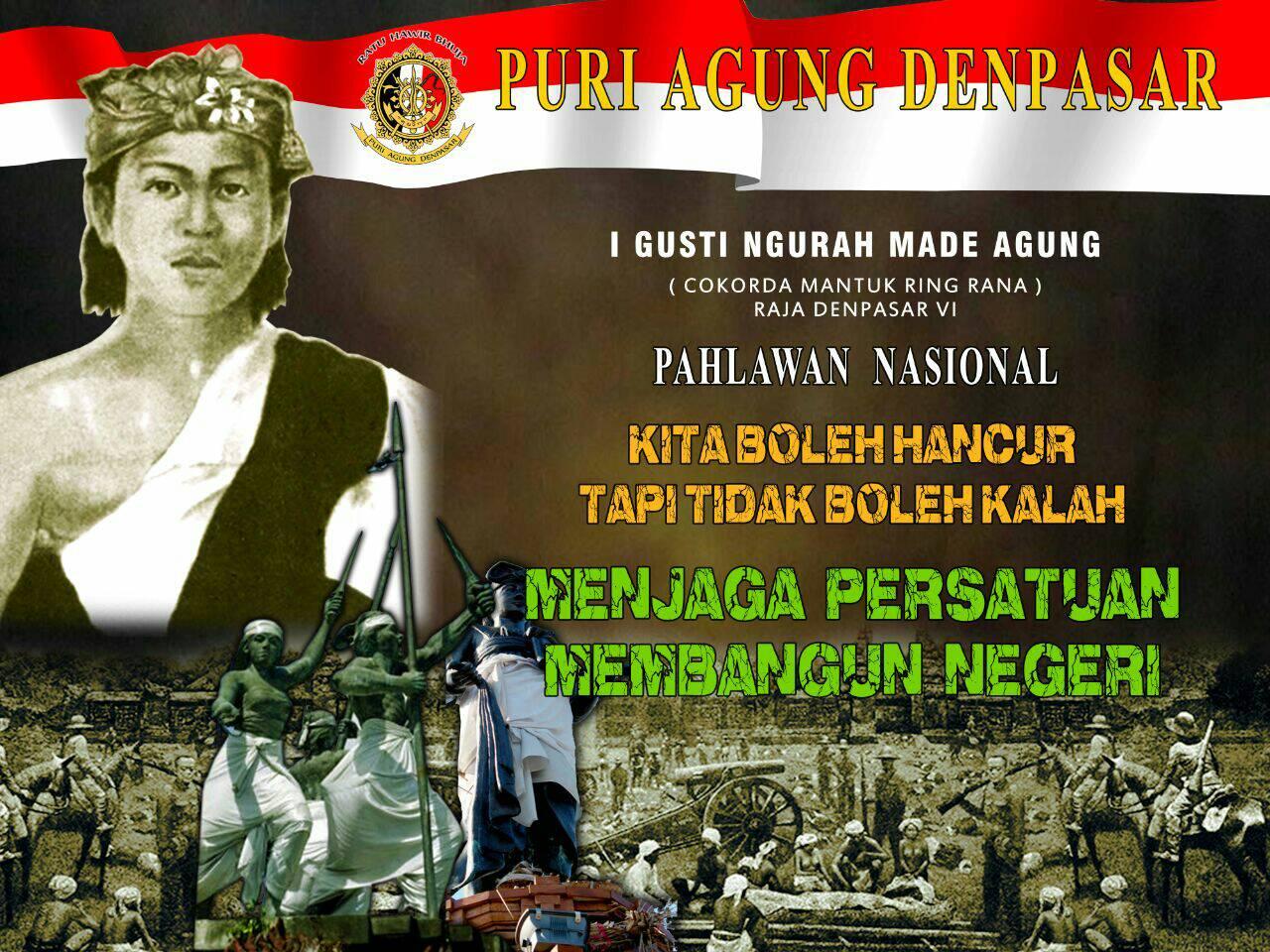 banner puri agung denpasar